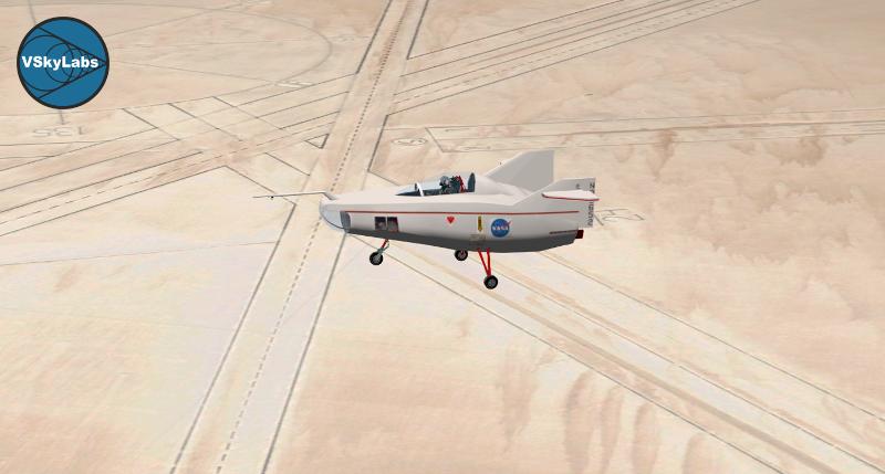 VSKYLABS NASA'S M2-F1