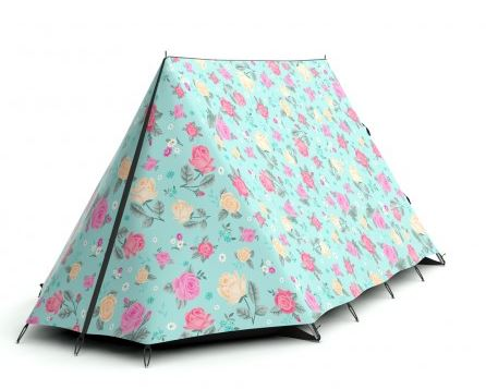 ...and if its the floral thing that you love...look at this lovely little number...so pretty isnu0027t it...decorated with lemon and pink roses ...  sc 1 st  Happy Loves Rosie & CHIC TENTS TO ROCK THE CAMPSITE - happy loves rosie
