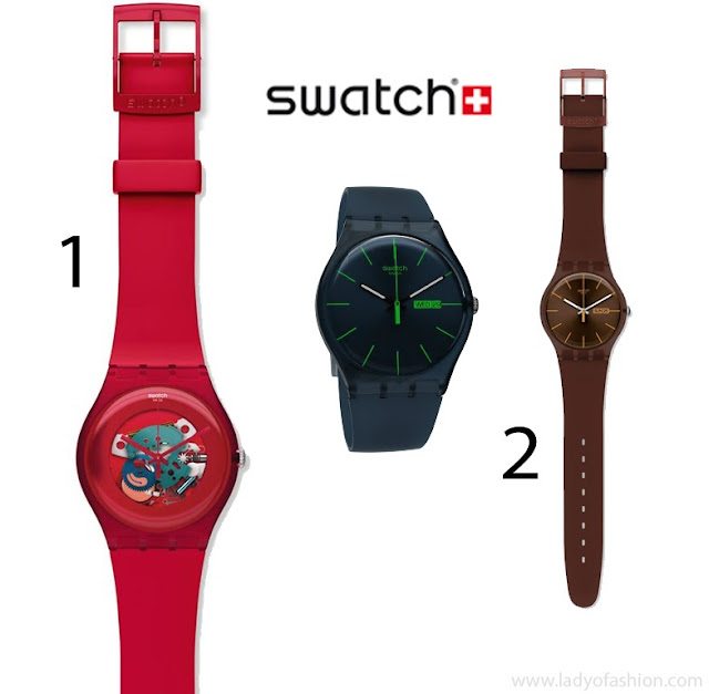 Swatch watch - Top men's style accessories 2013
