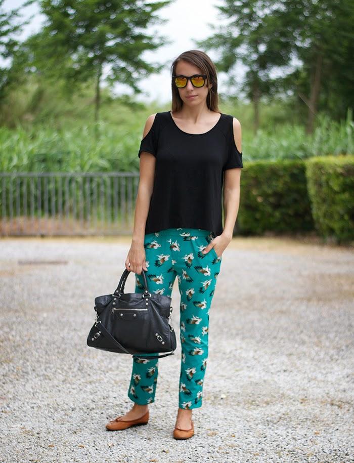 pantalone stampa