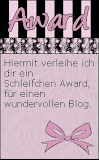 Mein 1. Blogaward♥