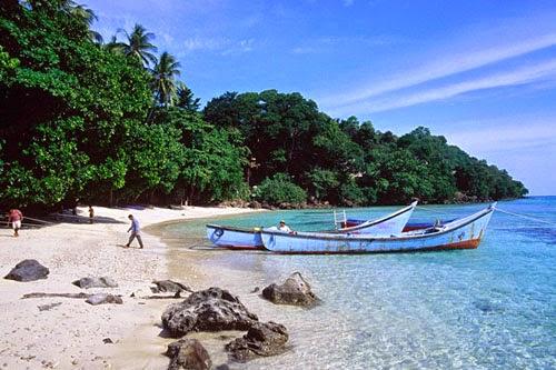 Pantai Indah di Pulau Lombok