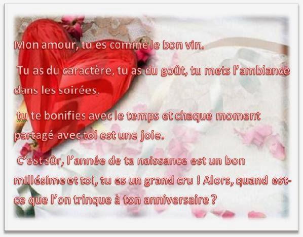 Carte Et Poeme Anniversaire Pour Homme Texte Anniversaire Sms