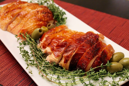 Marbella-Brined Roast Turkey Breast