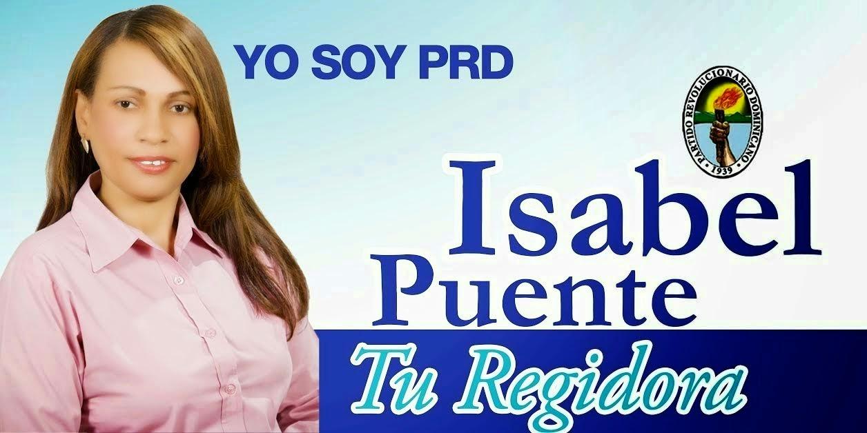 Isabel Puente, Tu Regidora!