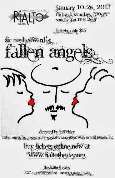 """Fallen Angels"" by Noel Coward Live on Stage at the Rialto Theater"