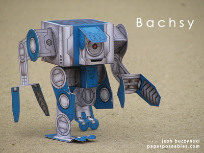 robot papier