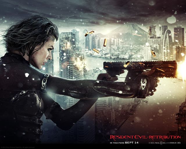 Resident Evil: Retribution PowerPoint background 01
