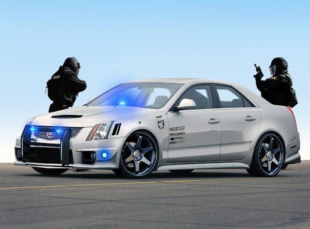 Cadillac CTS V Police Car