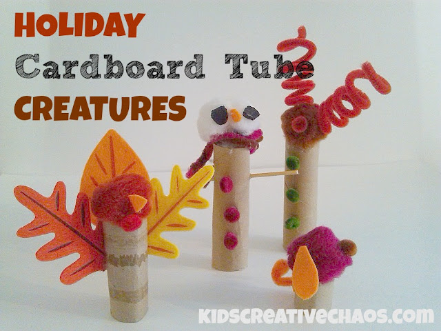 Cute Cardboard Tube Crafts