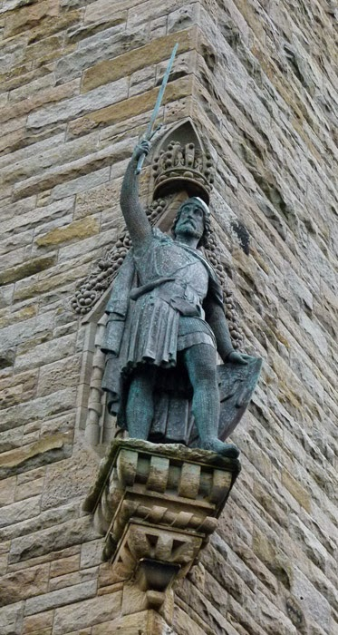 William Wallace statue, National Wallace Monument, Stirling, bit about Britain