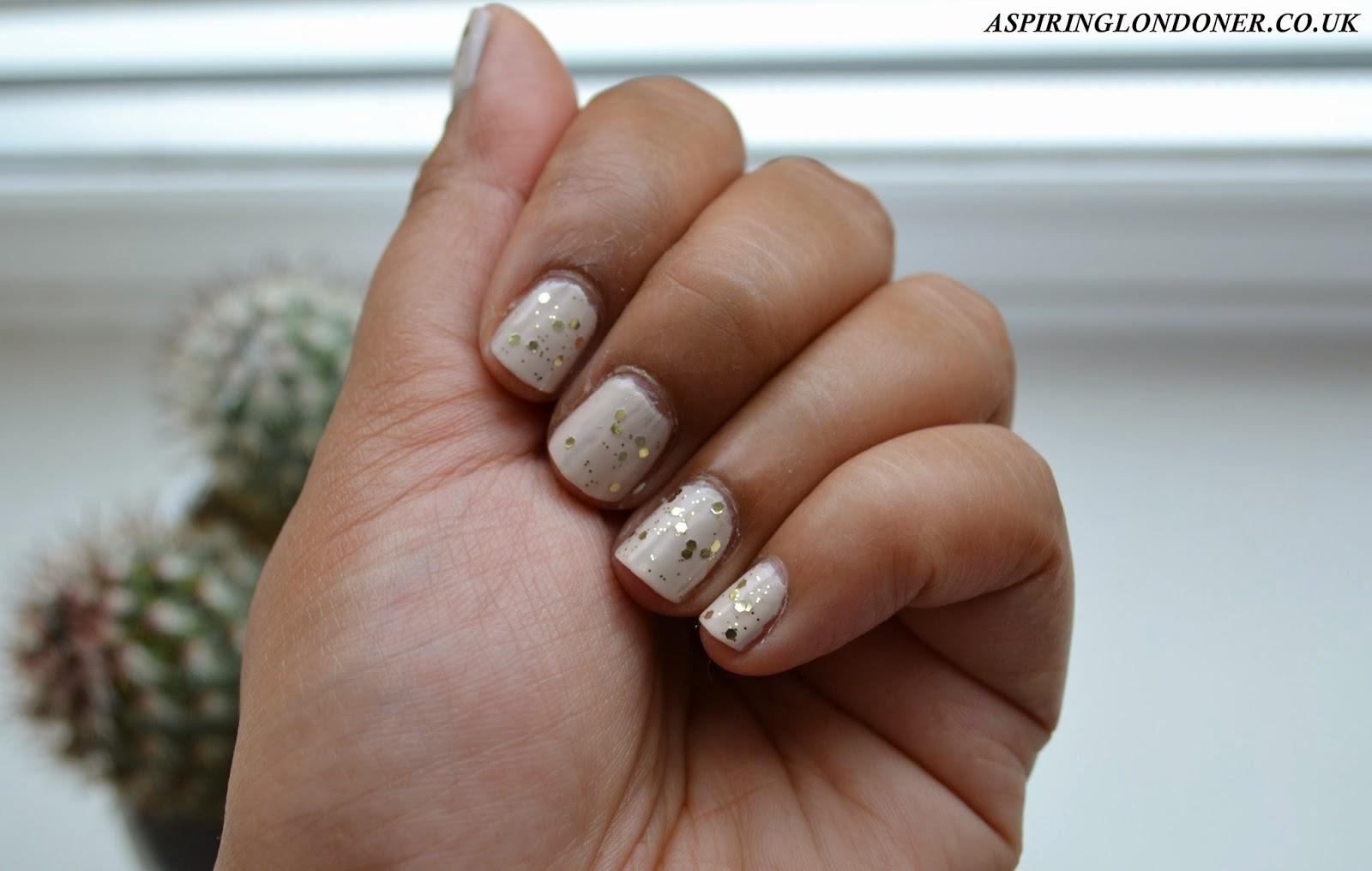 Seventeen Nail Effects Glitter Top Coat Limited Edition - Aspiring Londoner