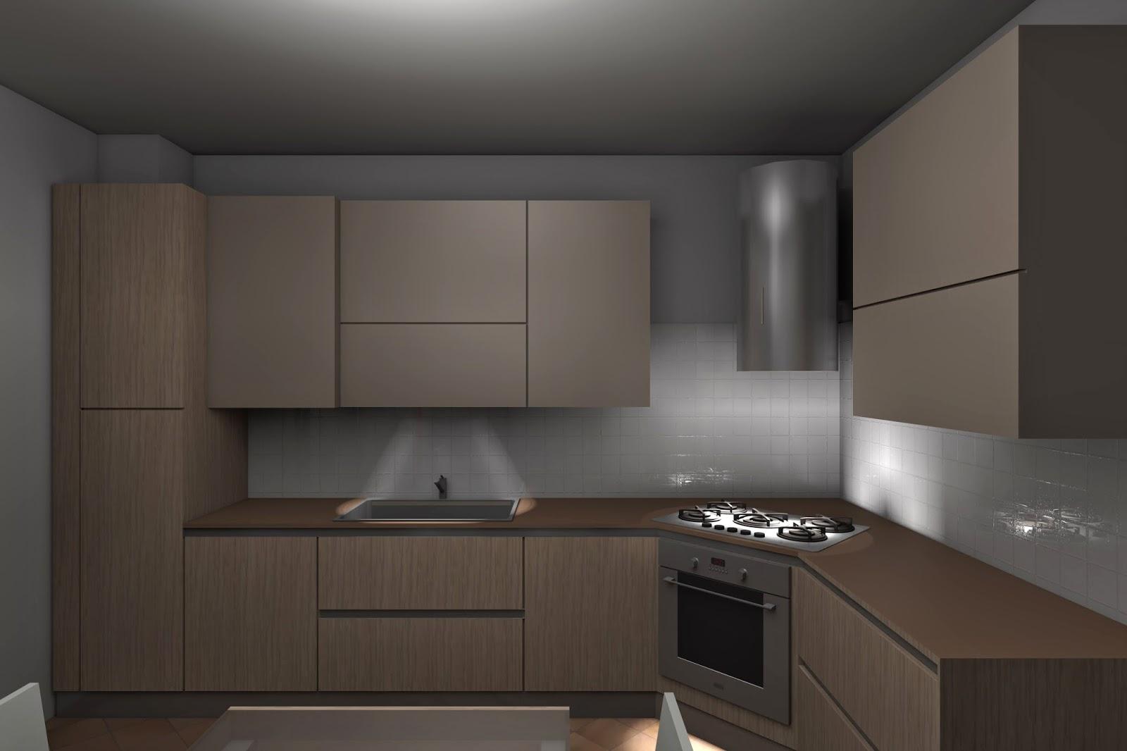 Cucina moderna angolare - Progetto cucina angolare ...