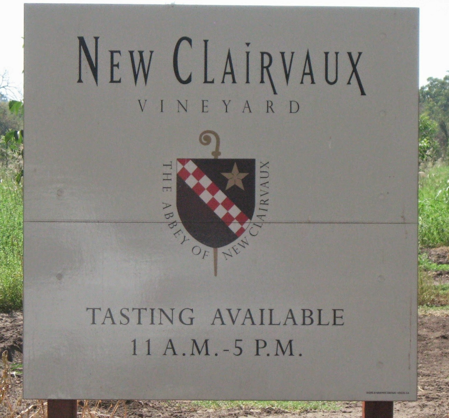 From Whine to Wine at the Abbey of New Clairvaux