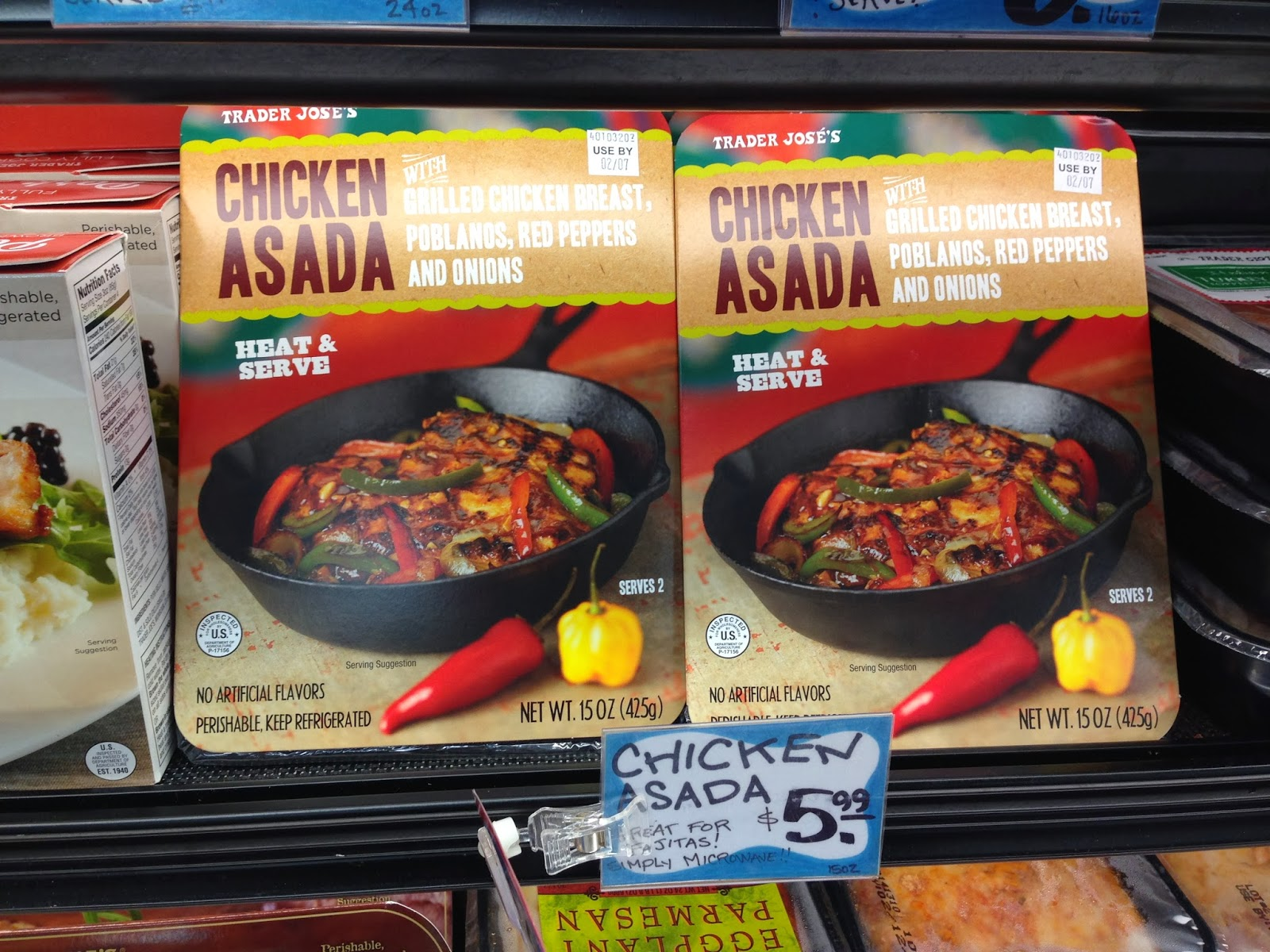 Trader+Joes+Chicken+Asada+Eggface+New+Product+Find Weight Loss Recipes New Product Alert   Trader Joes (Joses) Chicken Asada
