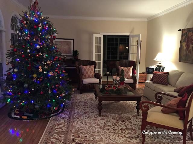 Living Room Christmas Tour