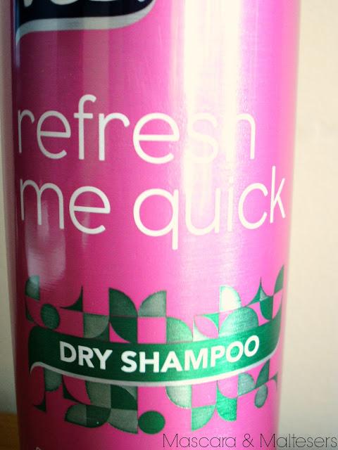 VO5 Refresh Me Quick Dry Shampoo