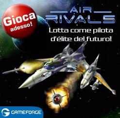 AirRivals, l'unico gioco gratis di combattimento multigiocatore di aerei da guerra