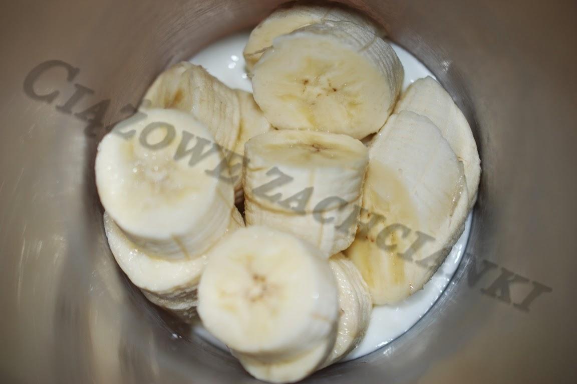 Banany w blenderze