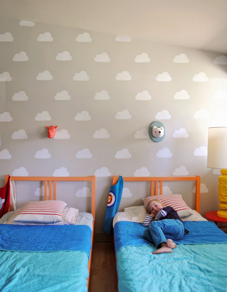 Inspiración pintar paredes dormitorio infantil