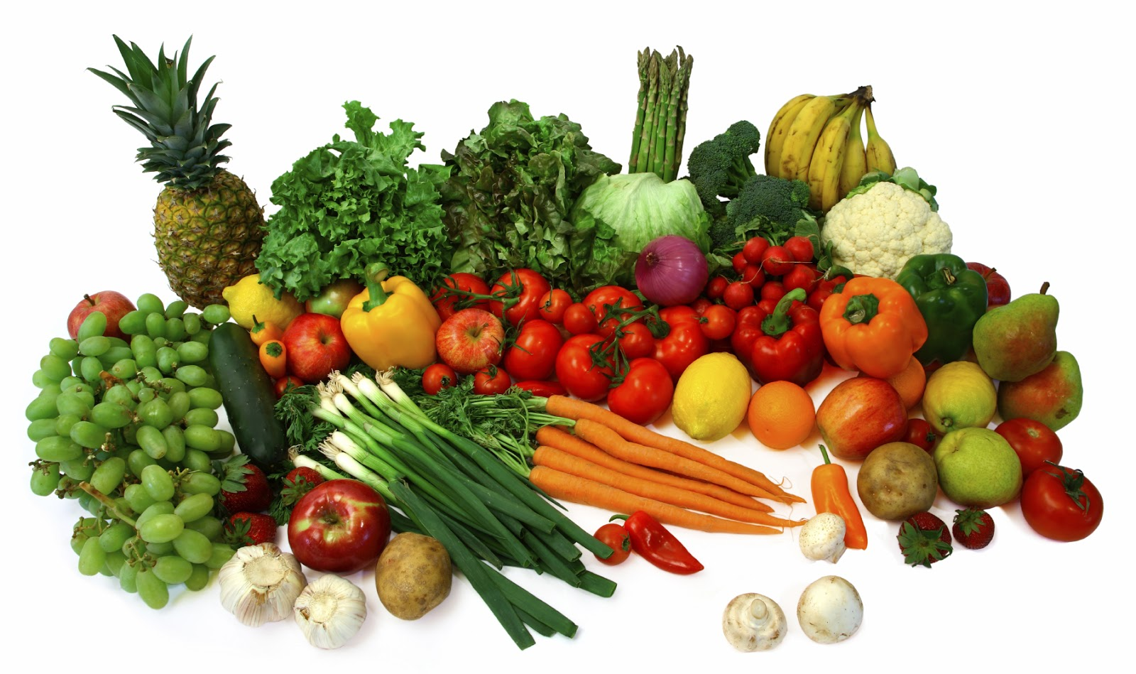 Rules of cooking vegetables and fruits