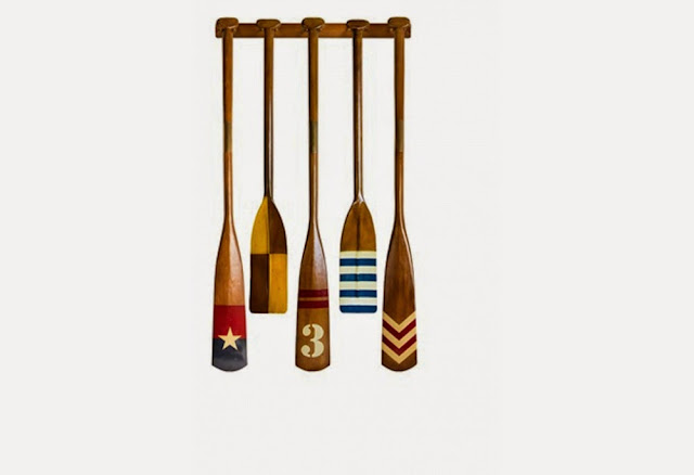 Wooden Decorative Oars
