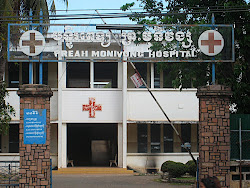 Hospital that Somaly brought the girls to