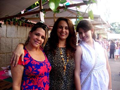 Leonir dos Anjos, Luisa Nobrega e Daniela Cordeiro