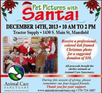 12-14 Pet Pictures With Santa