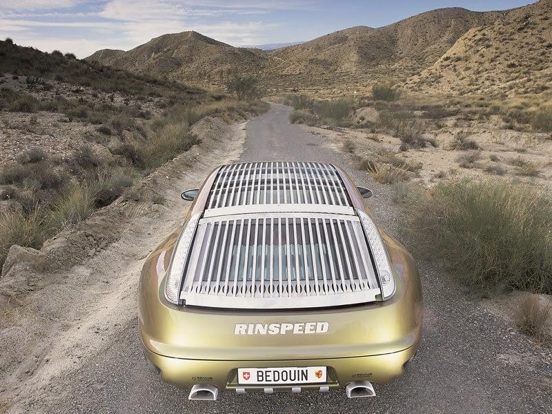 (Rinspeed Porsche Bedouin 996 Turbo (2003
