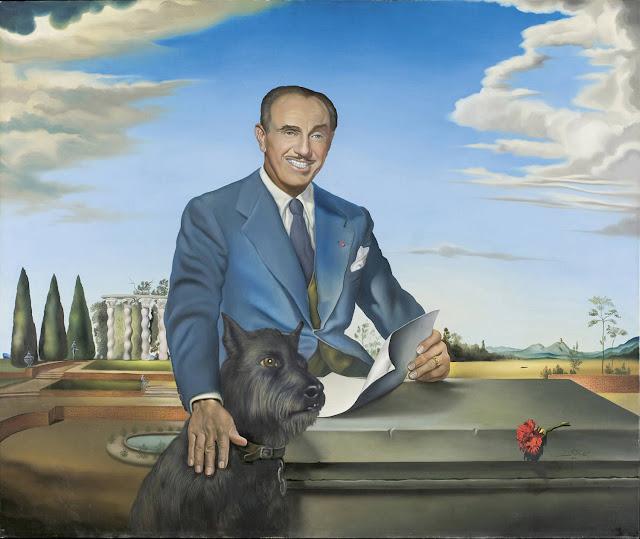 Portrait du colonel Jack Warner 1951 de Salvador Dalí.