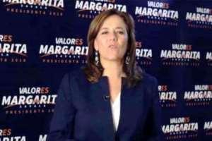 Zavala revela por qué se bajó de la contienda presidencia