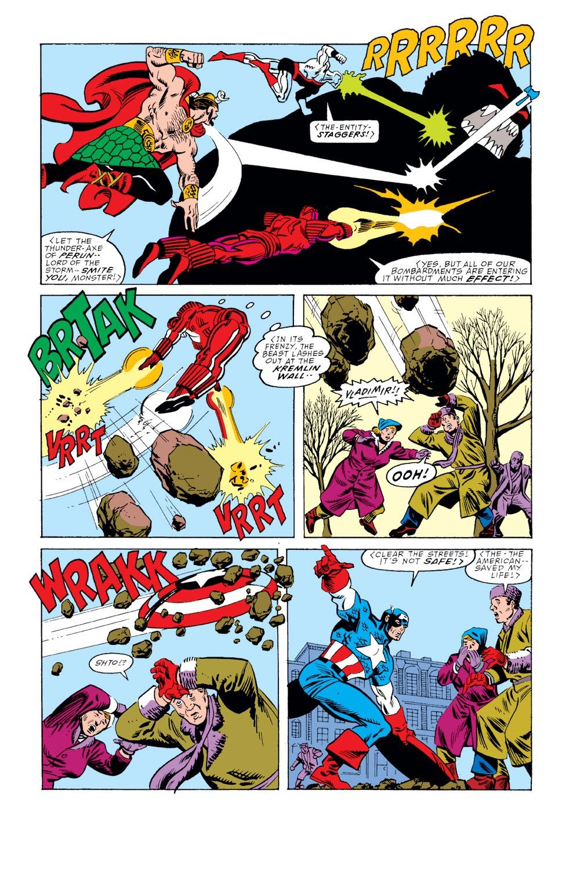 Captain America (1968) Issue #353 #285 - English 18