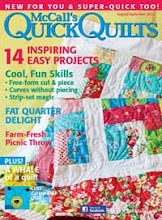 McCalls Quick Quilts Aug/Sept 2012
