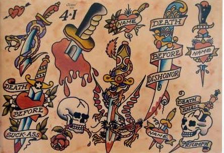 Tattoos: Old School
