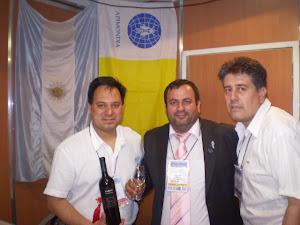 APIMONDIA 2011-  Junto a Khalil quien llegó desde el Líbano para compartir unos días con nosotros