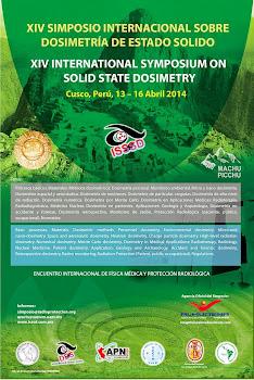XIV SIMPOSIO INTERNACIONAL SOBRE DOSIMETRIA DE ESTADO SOLIDO (Cusco, 13-16 abril 2014)