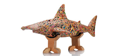 Recycled Skateboard Deck Sculptures Seen On www.coolpicturegallery.us