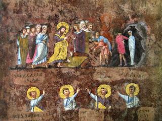 Resurrezione di Lazzaro, Codex Rossanensis