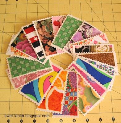 разноцветные визитки