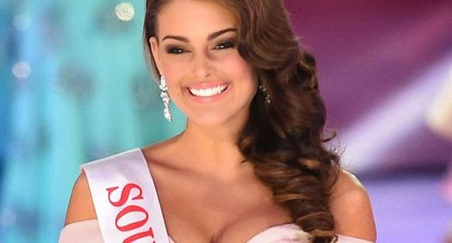 Miss South Africa Rolene Strauss Crowned as Miss World 2014
