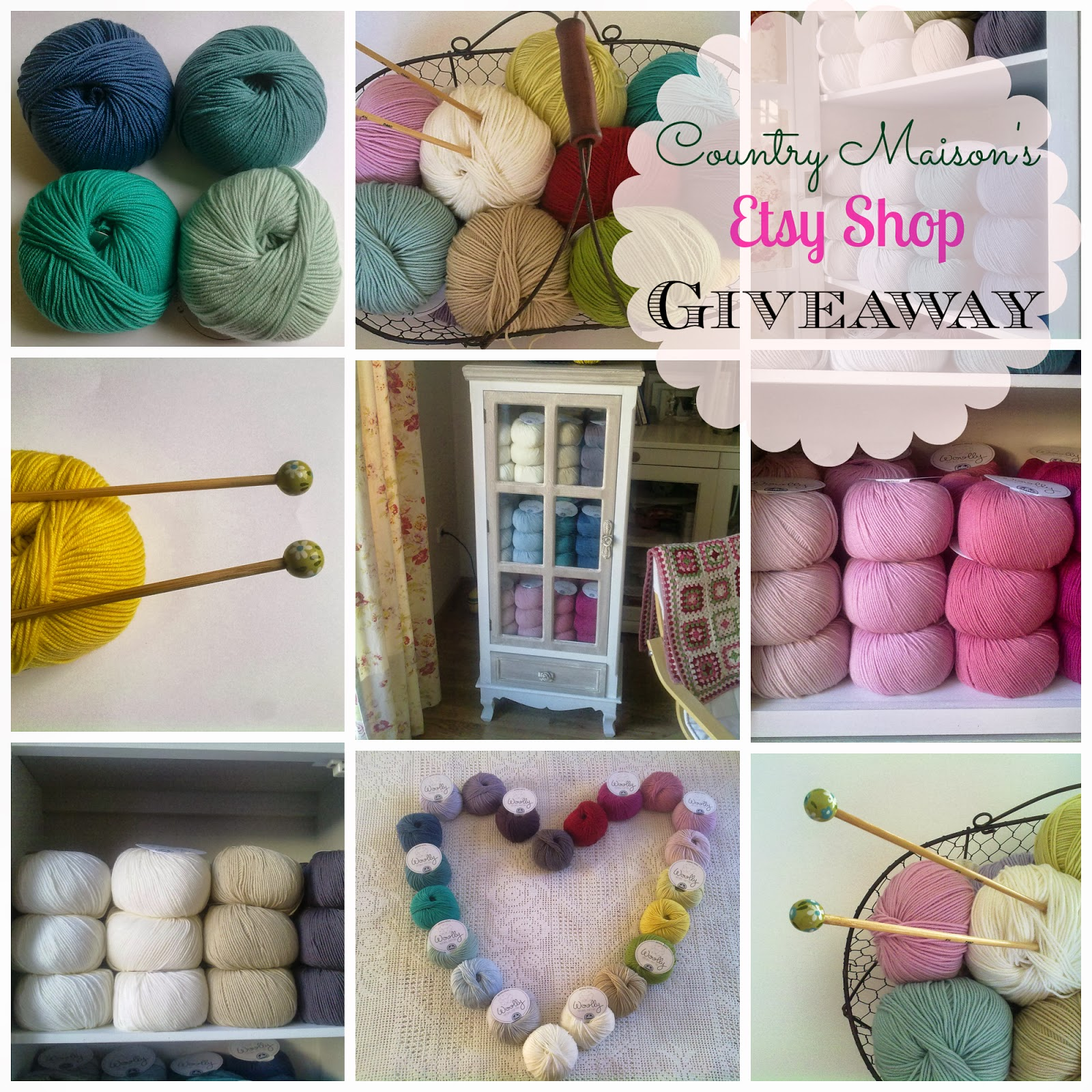 Country Maison Etsy Yarn Shop