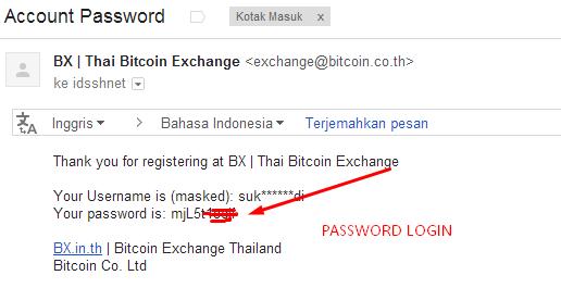 Cara Menukar Stellar ke BitCoin - Cek email