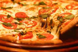 Receita de Pizza Marguerita esfoliada