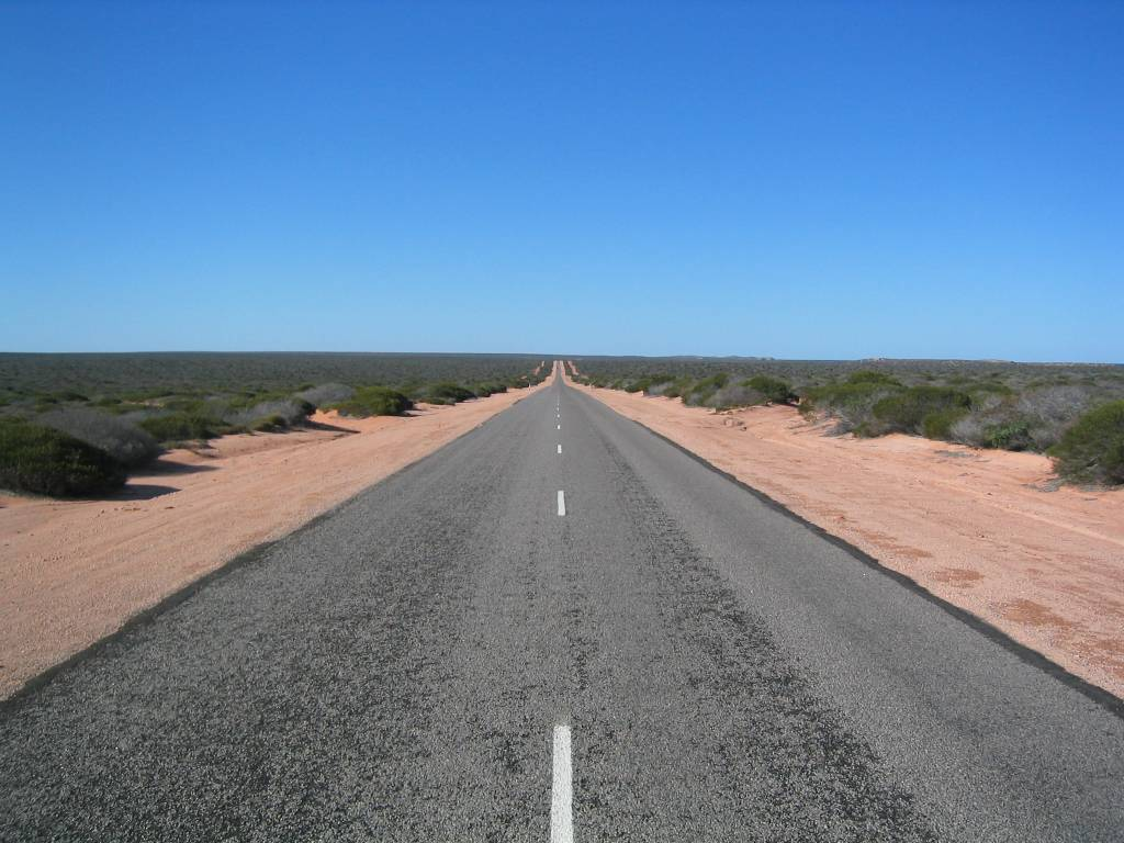 long straight road - photo #6