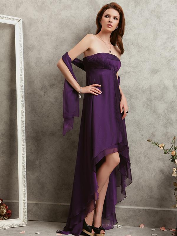 Purple Petite Cocktail Dresses
