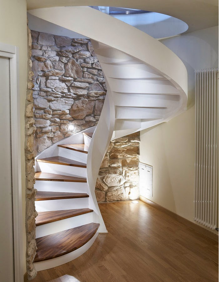 Spiral Stairs Designs In Reinforced Concrete Stairs
