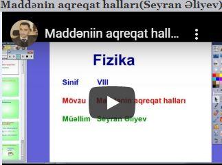 VİDEO Dərslər
