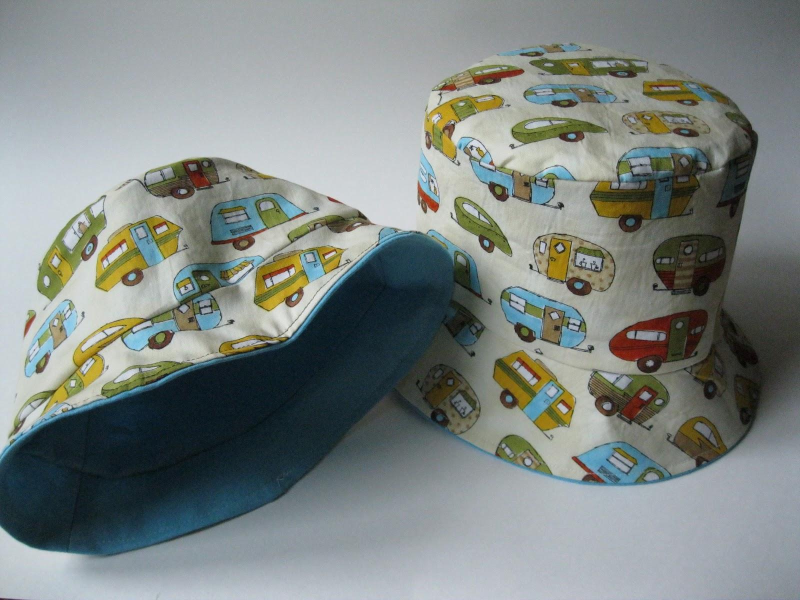 Monkey See, Monkey Do!: Spring Bucket Hats for my Boys