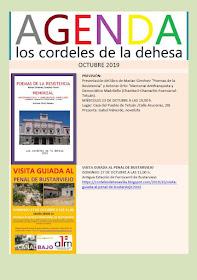 Octubre: Agenda de Los cordeles de la dehesa